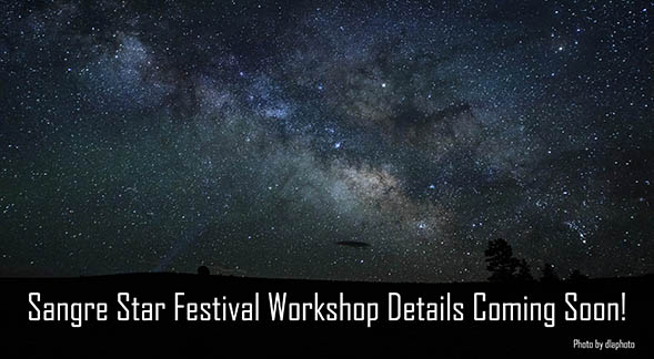 We have a splendid lineup of astrophotography and astronomy presentations which will be posted here when finalized. Stay tuned!