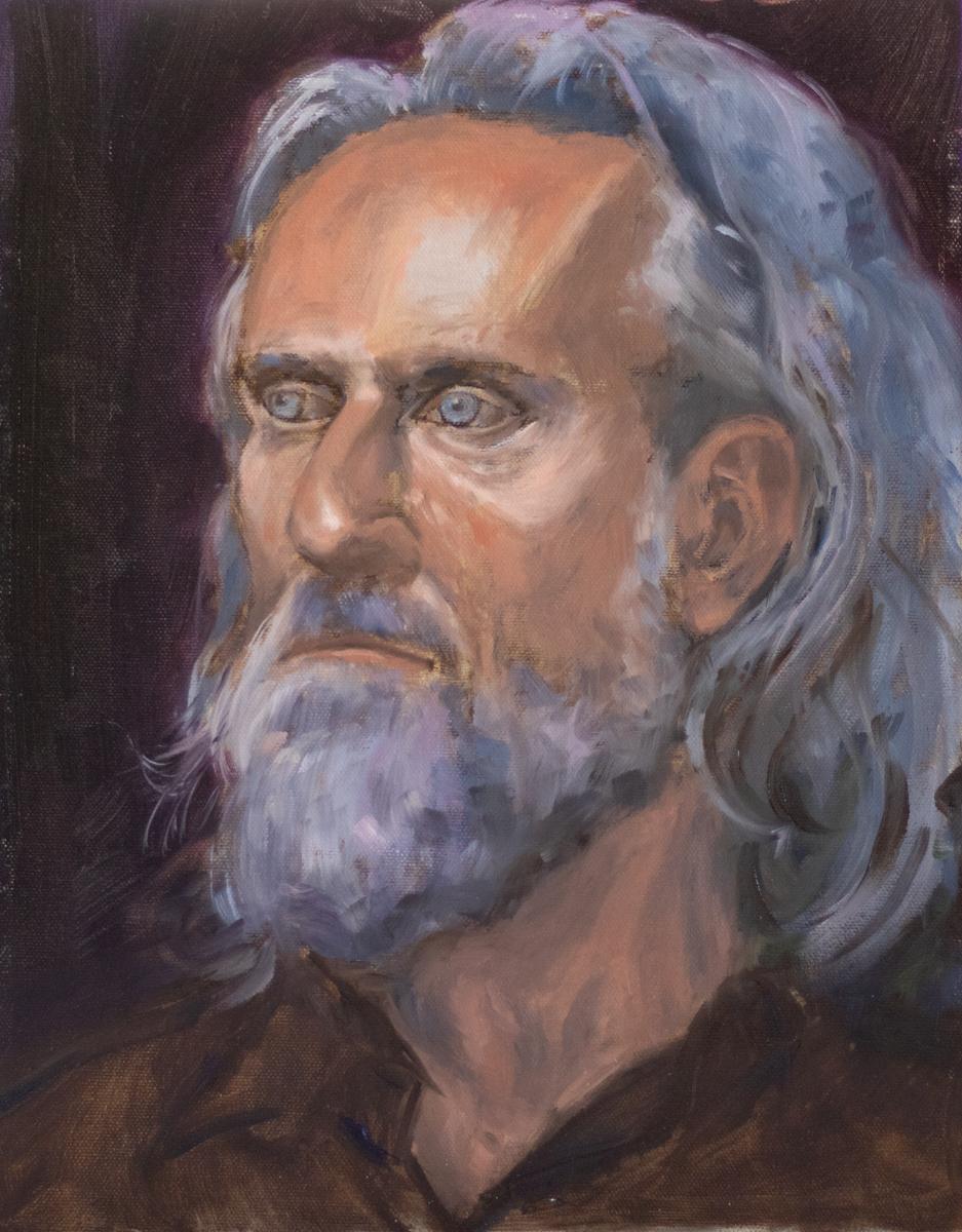 Roberto (Oil on Canvas Panel)