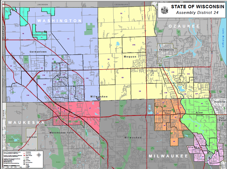 State of Wisconsin Assembly District 24