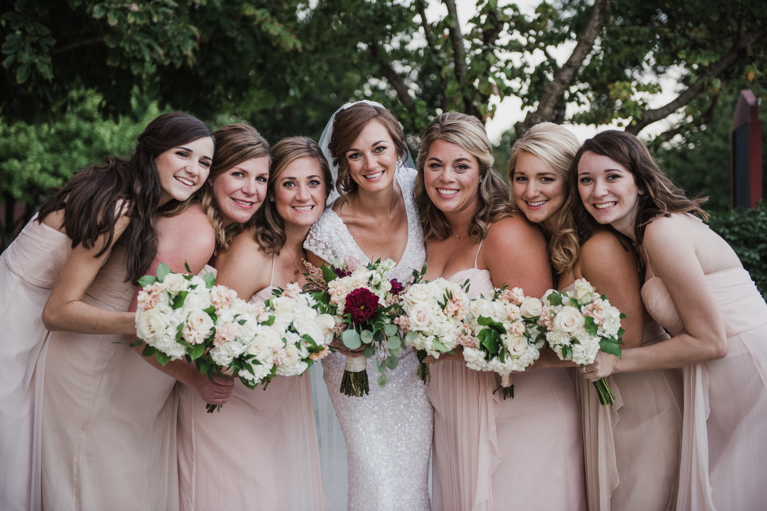 Lynn's Bridal Party