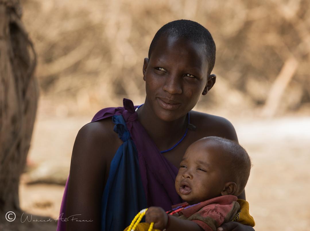 With Mom | Tanzania