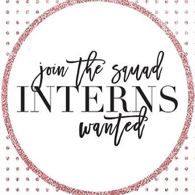 • Must be interested in the wedding/special event industry •Must be flexible on weekends •Must work well under pressure  Serious inquiries only! Please send us a brief message explaining why we should consider you for this internship to prjmarie@gmail.com 🎉
