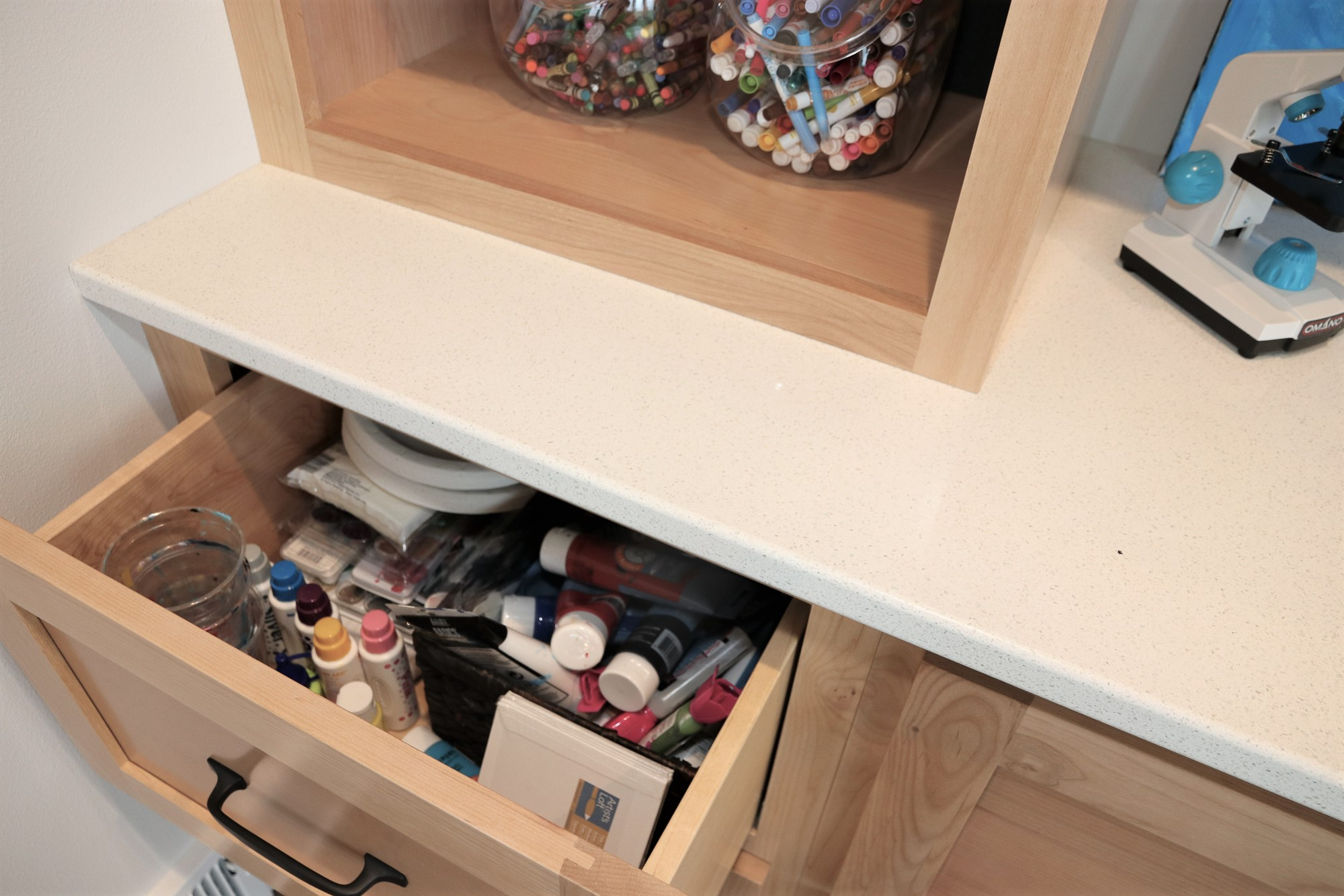 The paint drawer