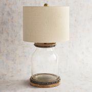 Nailhead Fillable Table Lamp
