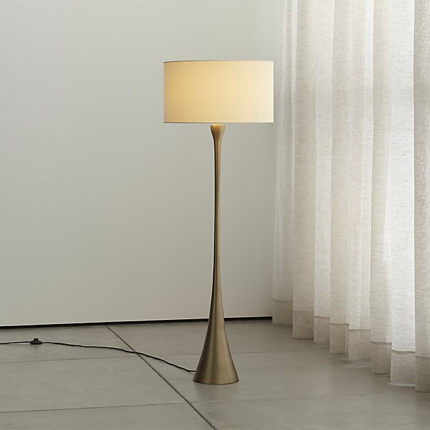Melrose Brass Floor Lamp