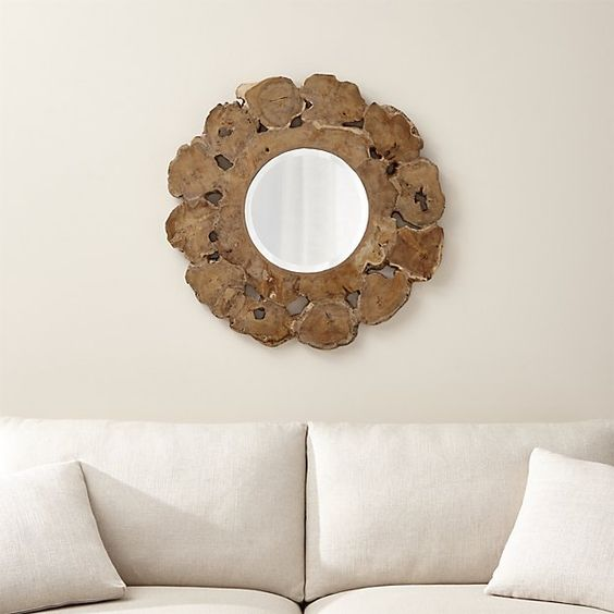 Root Driftwood Mirror
