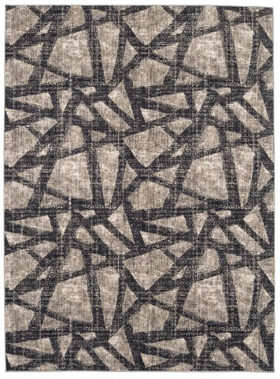 Karastan Expressions Solstice Onyx by Scott Living Dark Linen Collection