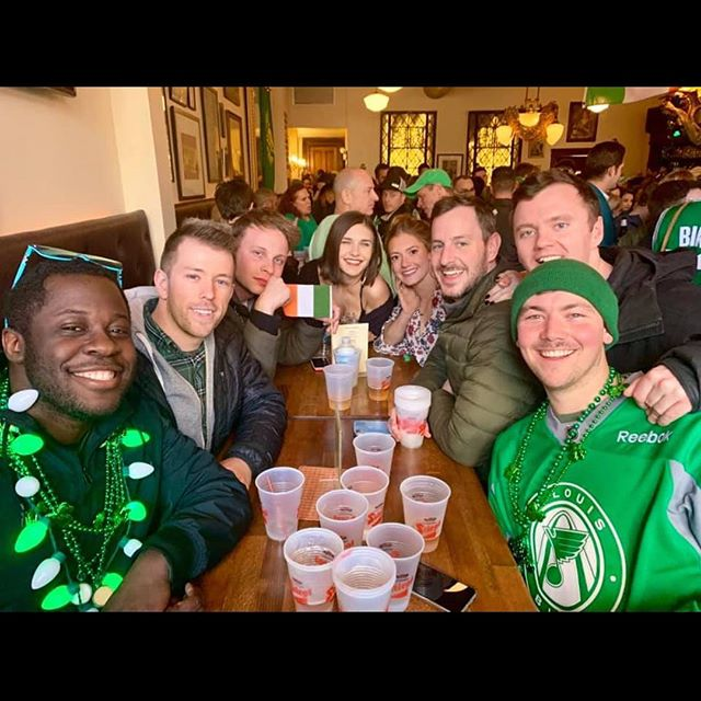 St Patrick's weekend was awesome 🔥