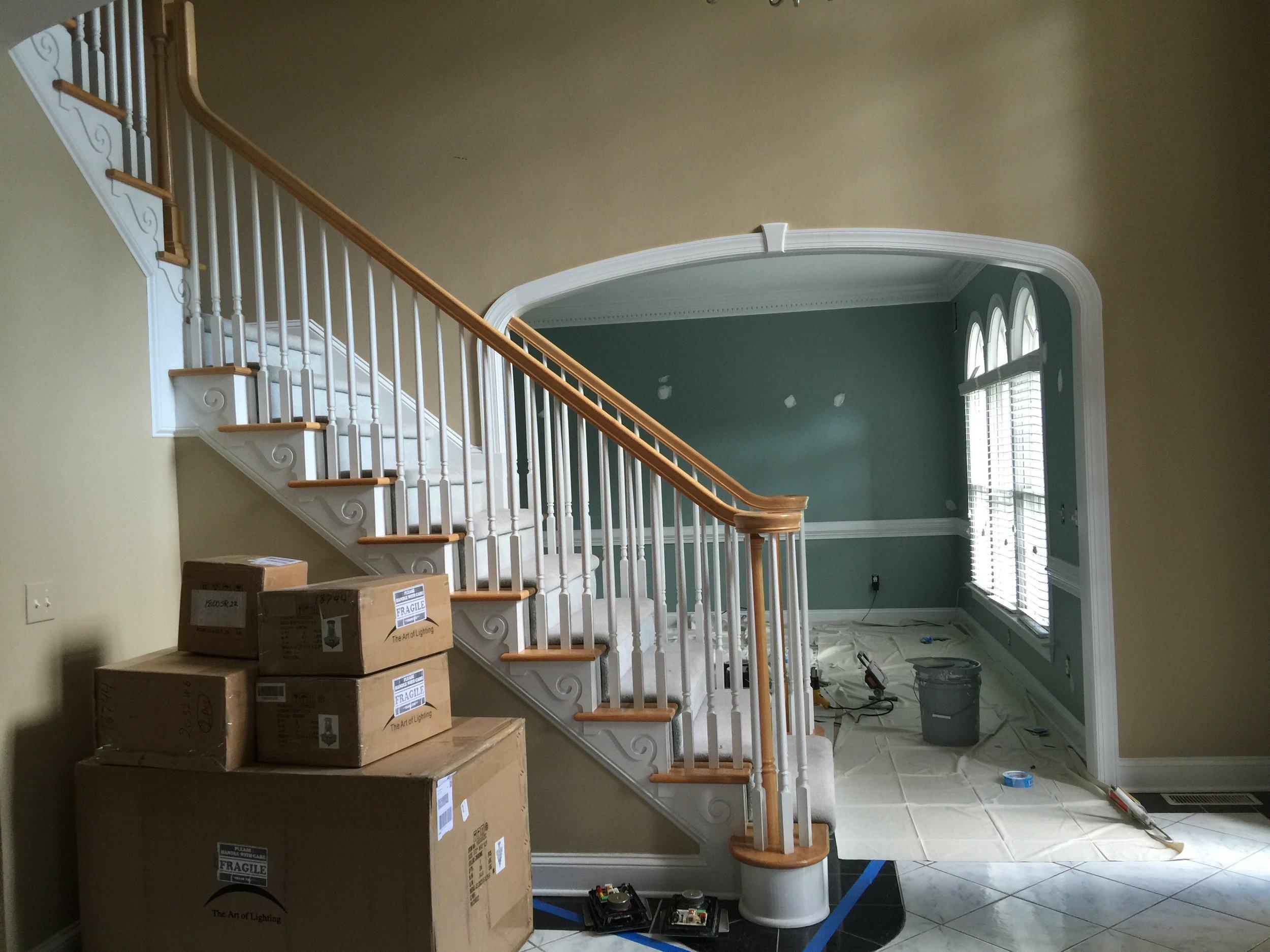 Existing Foyer
