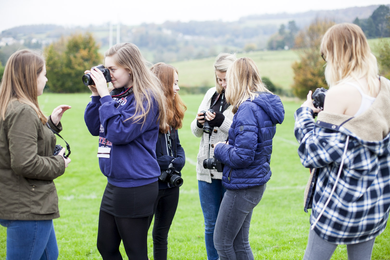 Mindful photography workshop at Archway School in Stroud