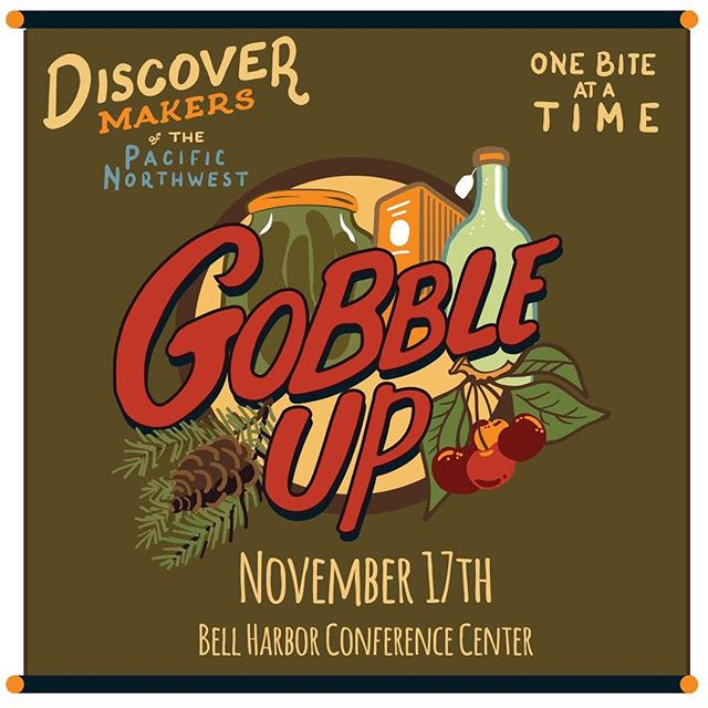 On the Saturday before Thanksgiving, come visit us @gobbleupseattle for some tasty holiday treats!