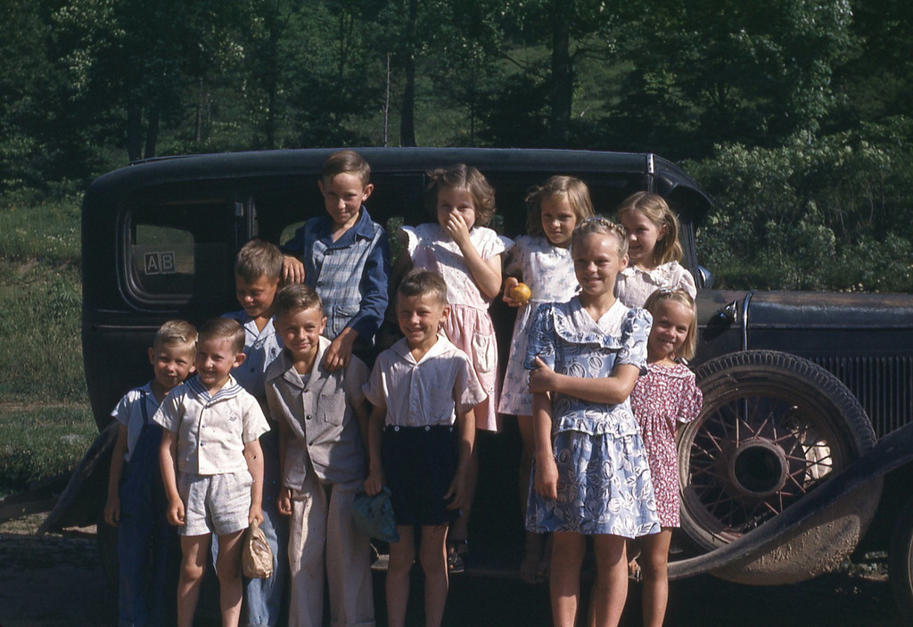 """1948 - Sand Springs class with """"Shasta"""""""