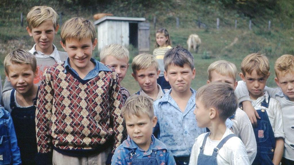 1950 October Children at Kemmer Gem School