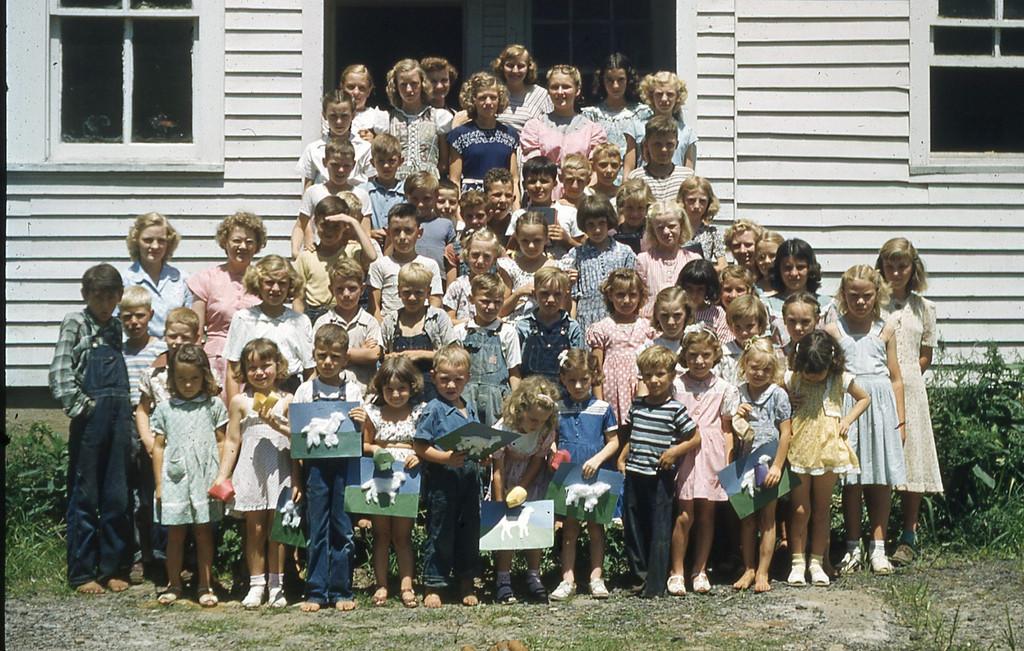 1949 - Over 70 enrolled in Stickleyville DVBS