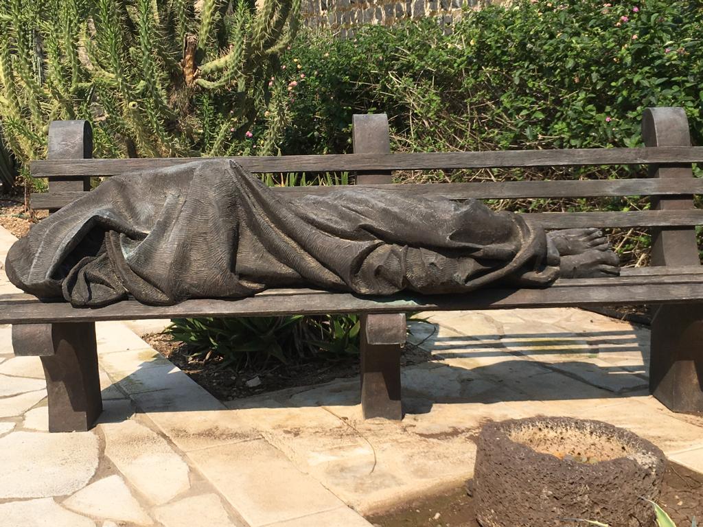 Homeless Jesus Capernaum