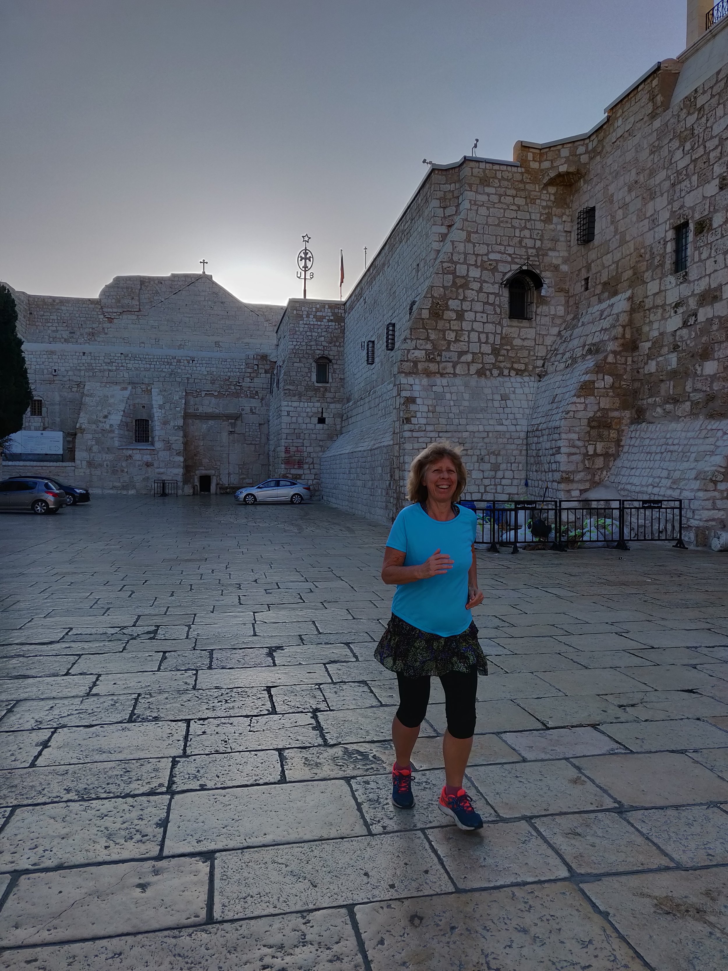 One of my recent adventures: Running in Bethlehem, March 2019