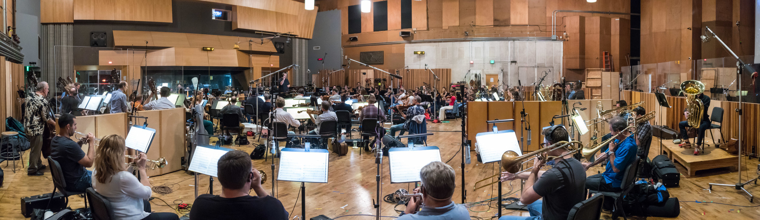 Orchestra session for 'Halo Wars 2'