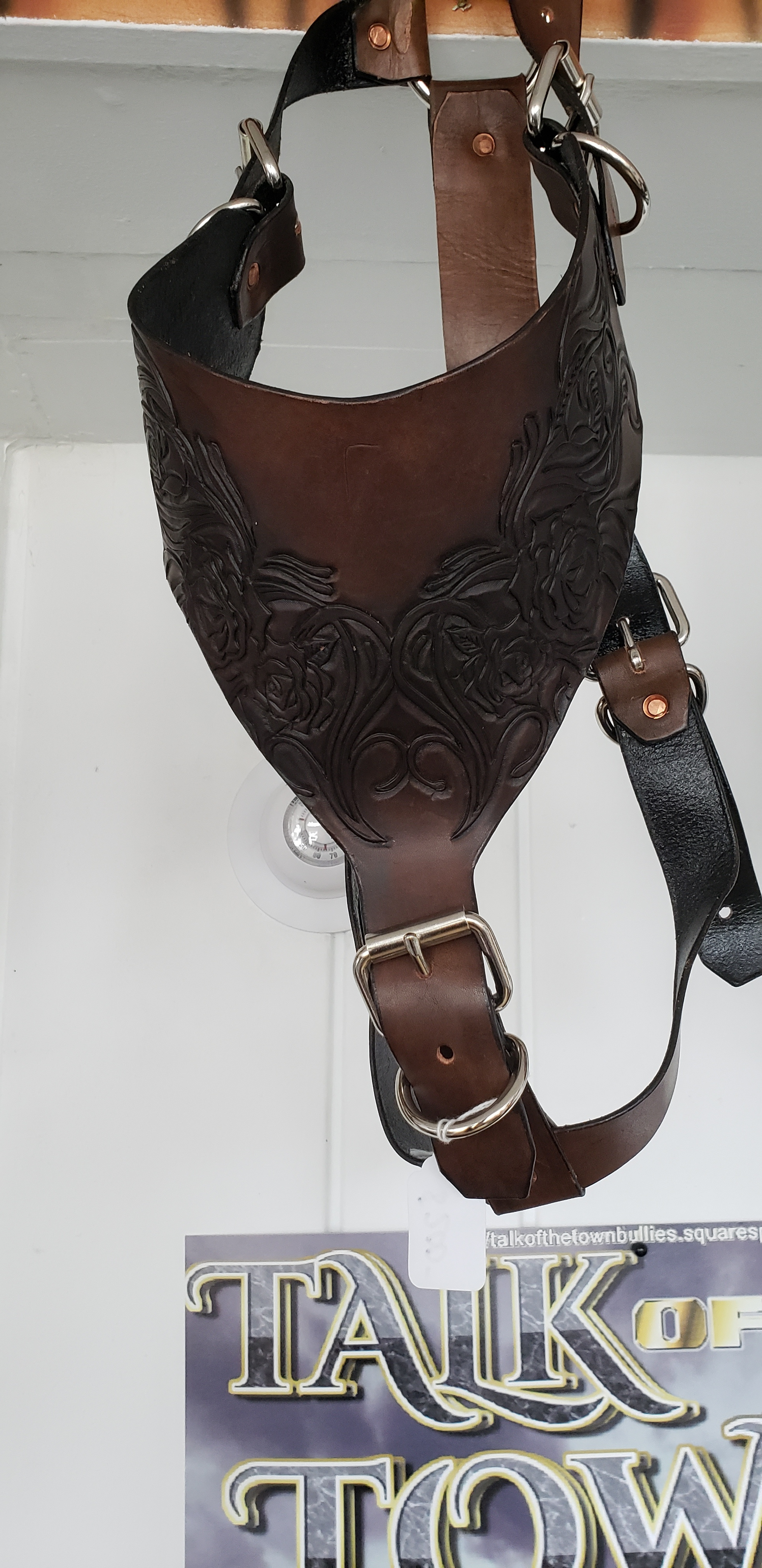 LEATHER HARNESS $200
