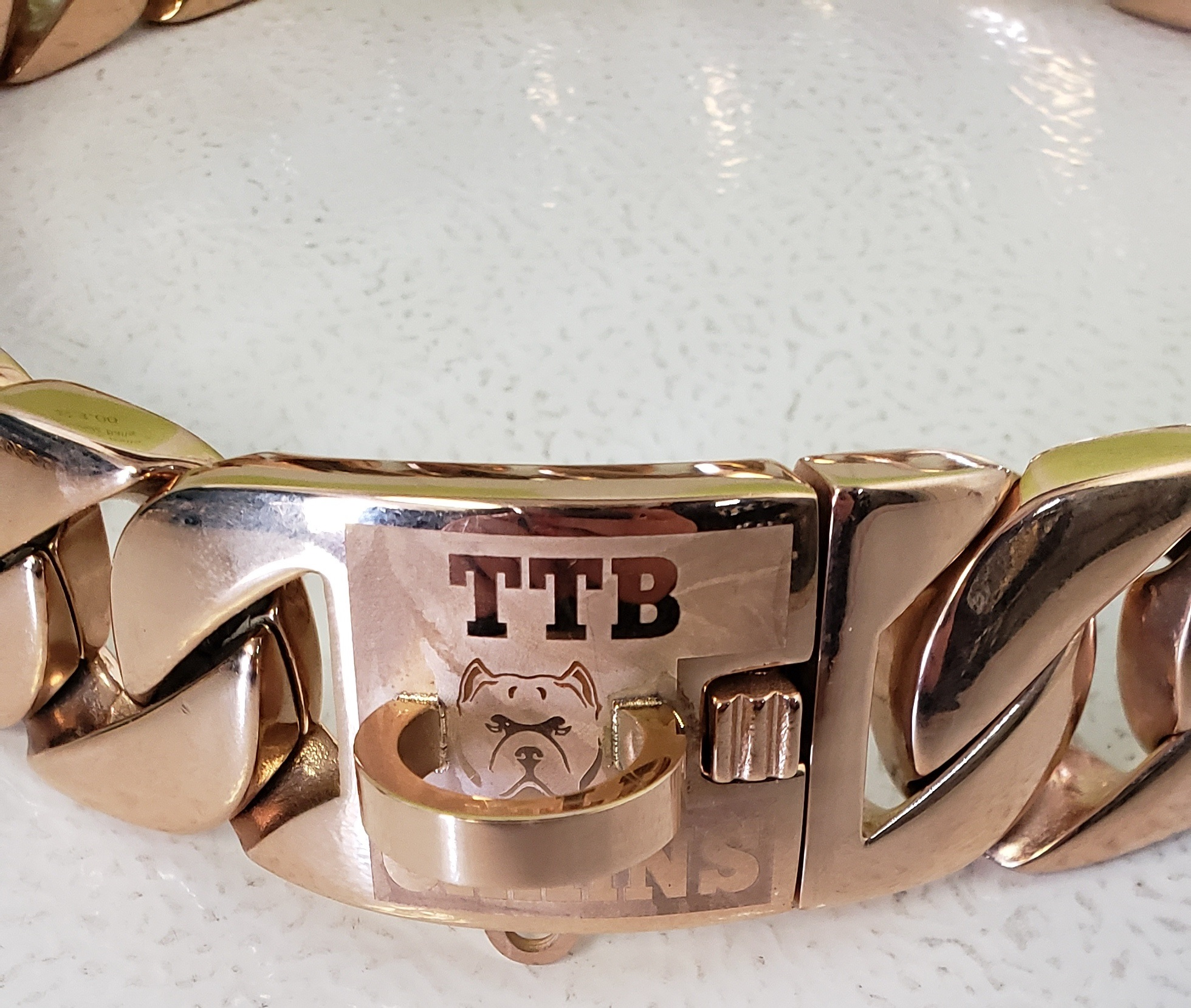 ROSE GOLD PLATED  $200