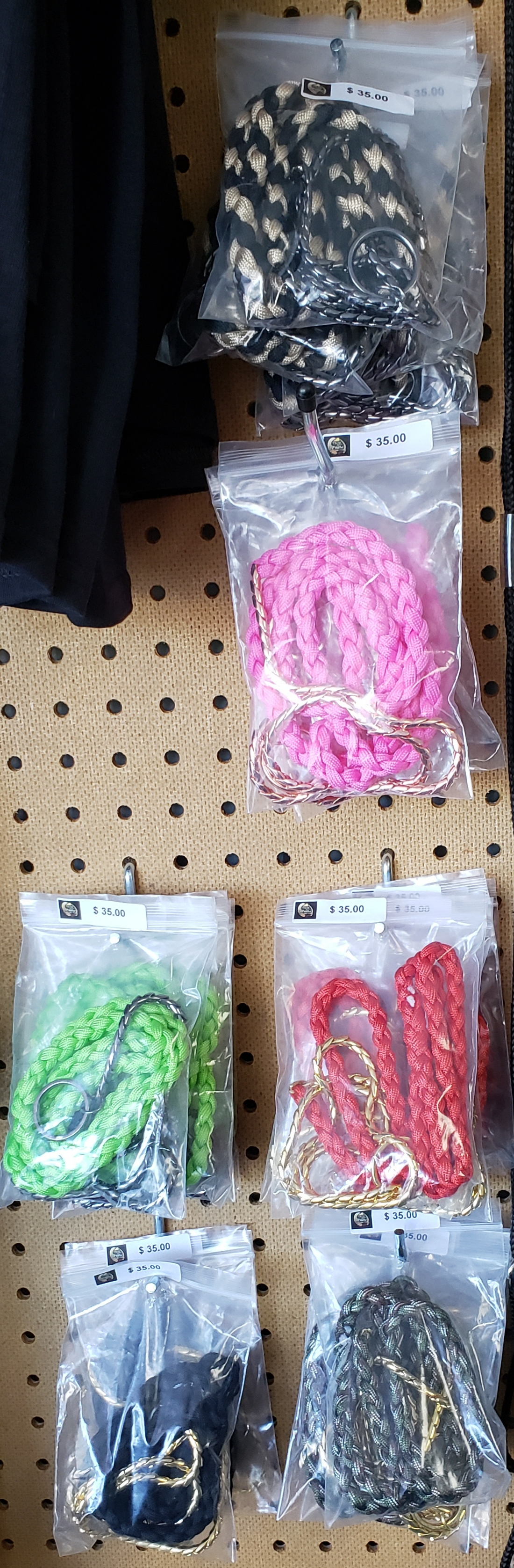 PARACORD LEADS $35