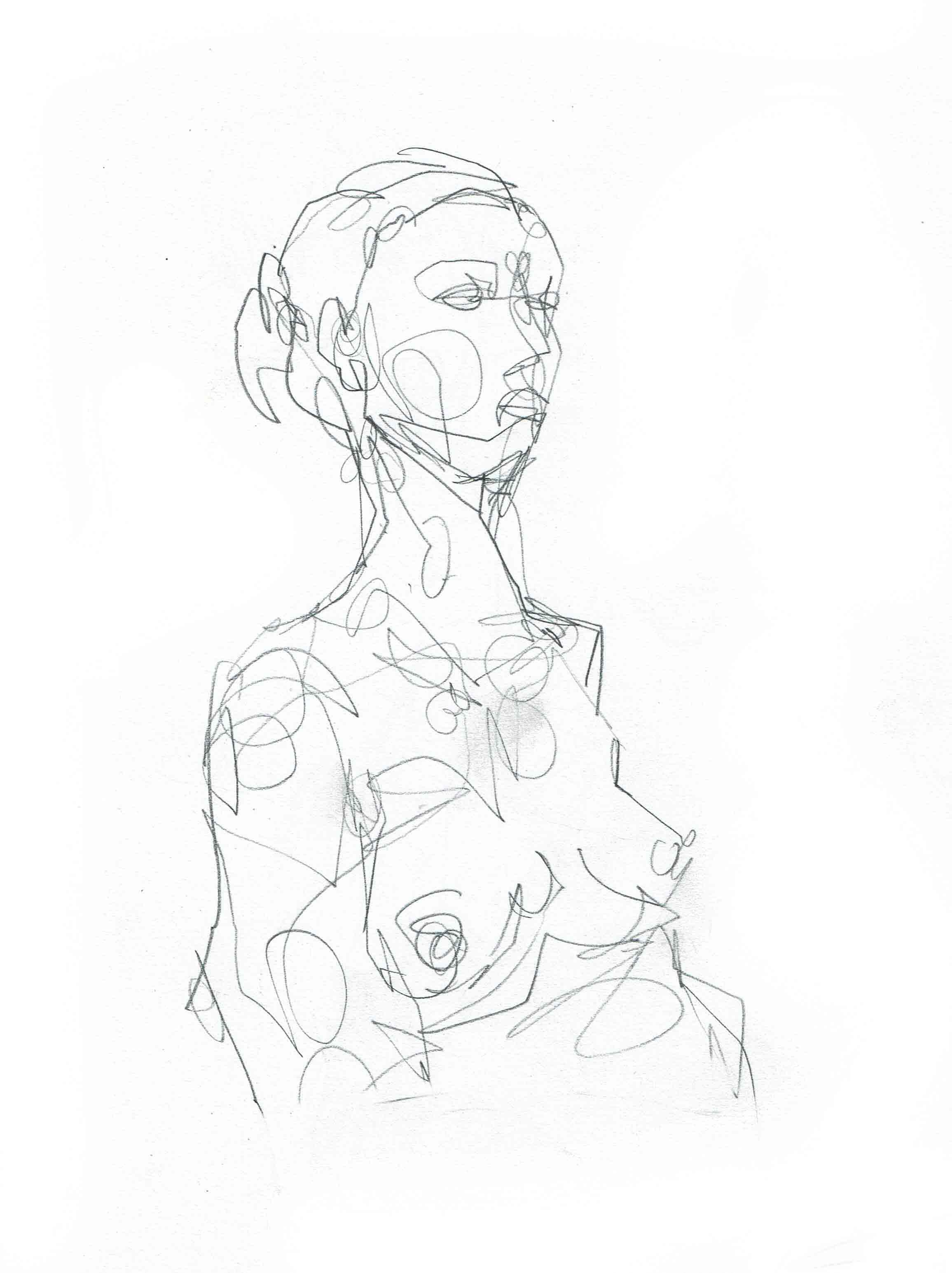 3 min face/torso