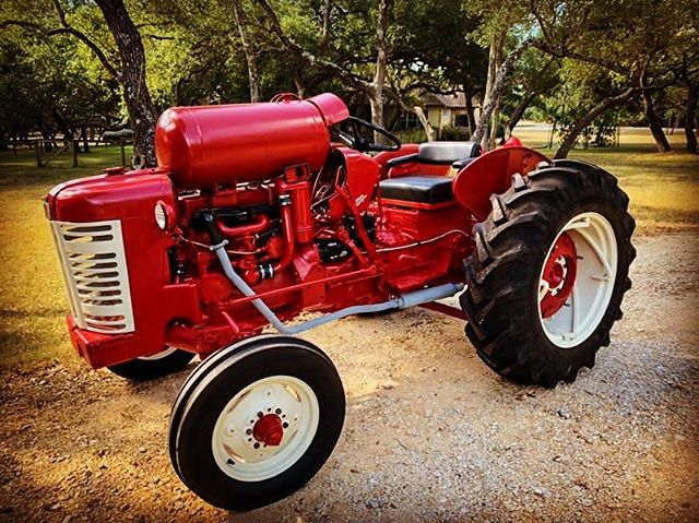 When you want something to last—you powder coat it.  It was an honor to work hard protecting such a fine piece of machinery that works hard for others. #farmlife #tractor #powdercoating
