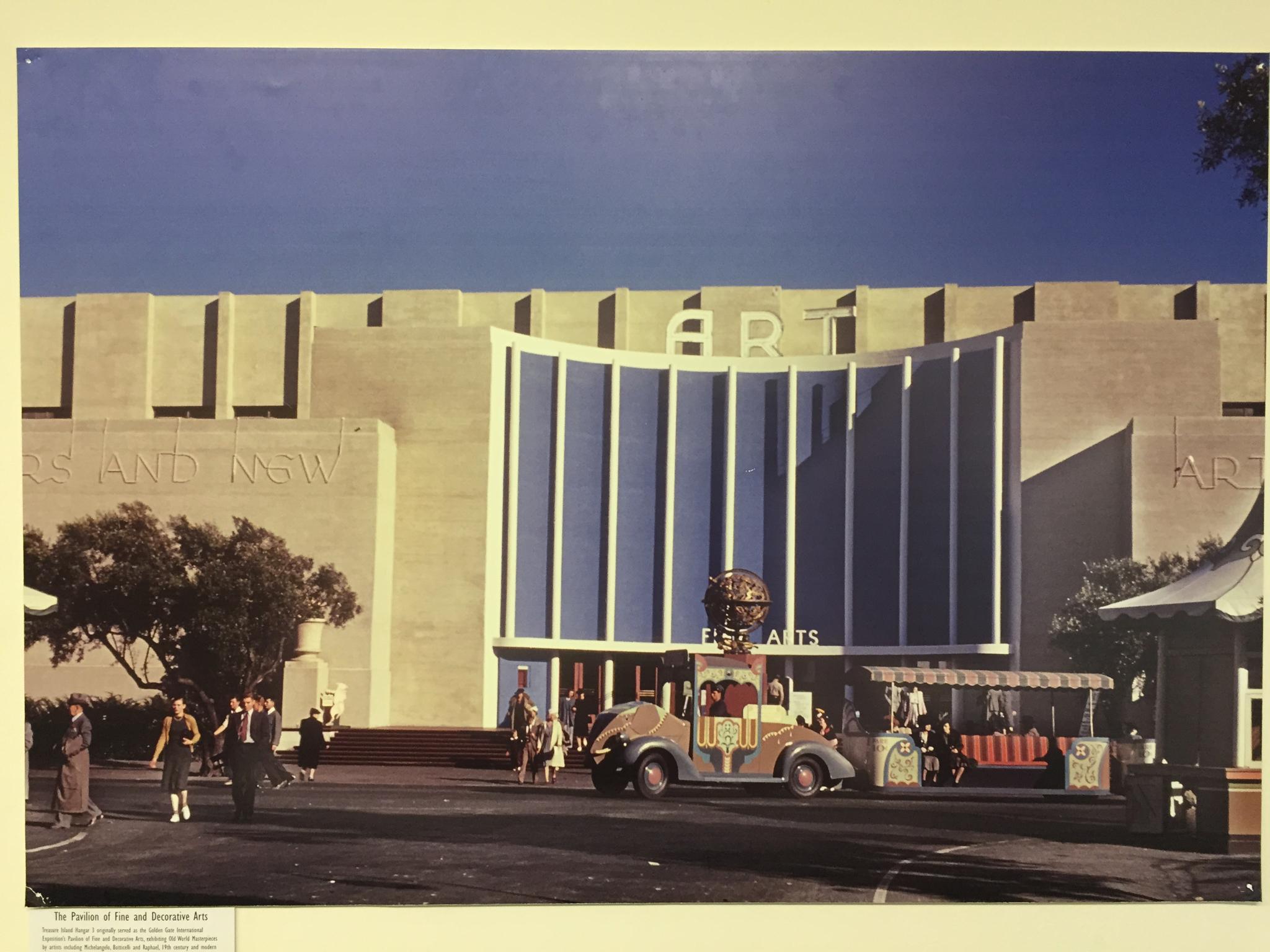 "Photograph but Karl Jacob; Image Courtesy of ""The San Francisco Faire – Treasure Island 1939 – 1940"" Eds. Patricia Carpenter & Paul Totah, Published by Scott Wall Associates – 1989"