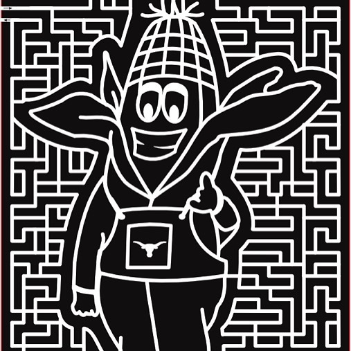 A Corn-Maze of a Corn Man. We can't wait to get lost with all of you this fall!