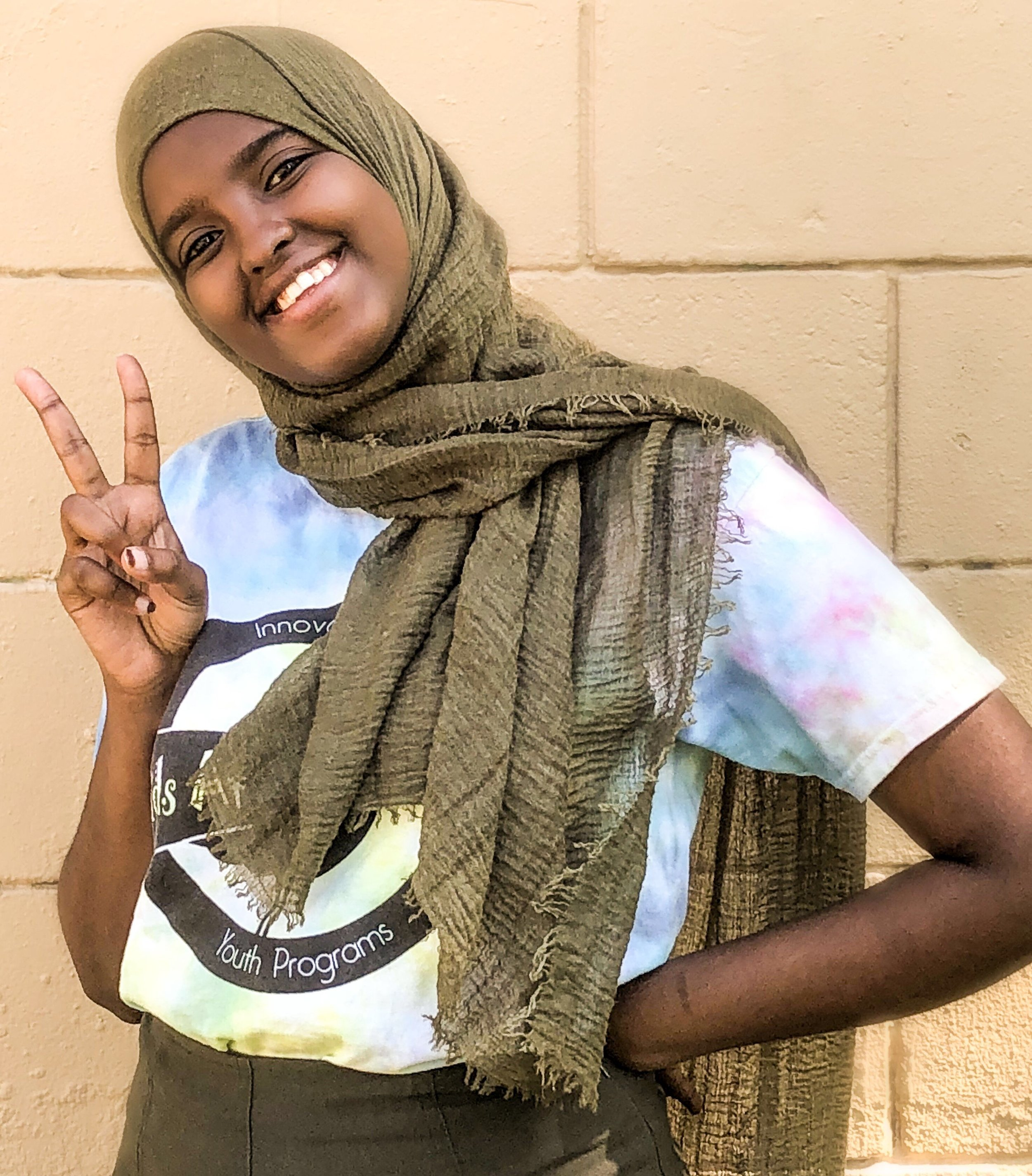 Mariam - Mariam is in her second year working for KATB. She likes sports a lot, especially playing tennis.