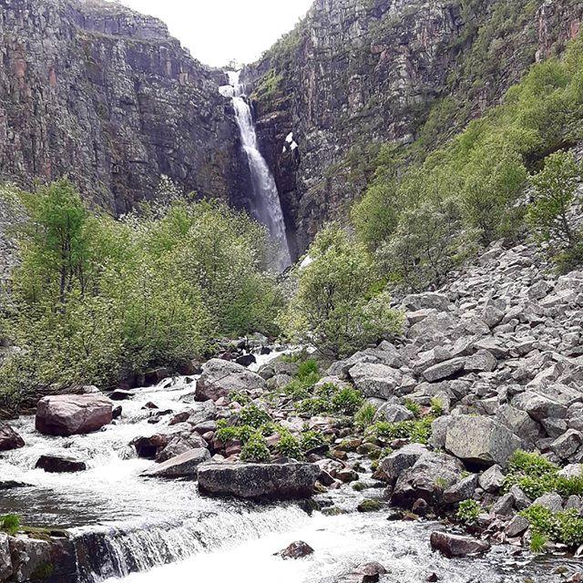 Familjeutflykt till Sveriges högsta vattenfall! Alltid lika kul 😊  #uradventures #duärdittäventyr #njupeskär #naturalreality #fulufjälletsnationalpark #fulufjället #dalarna