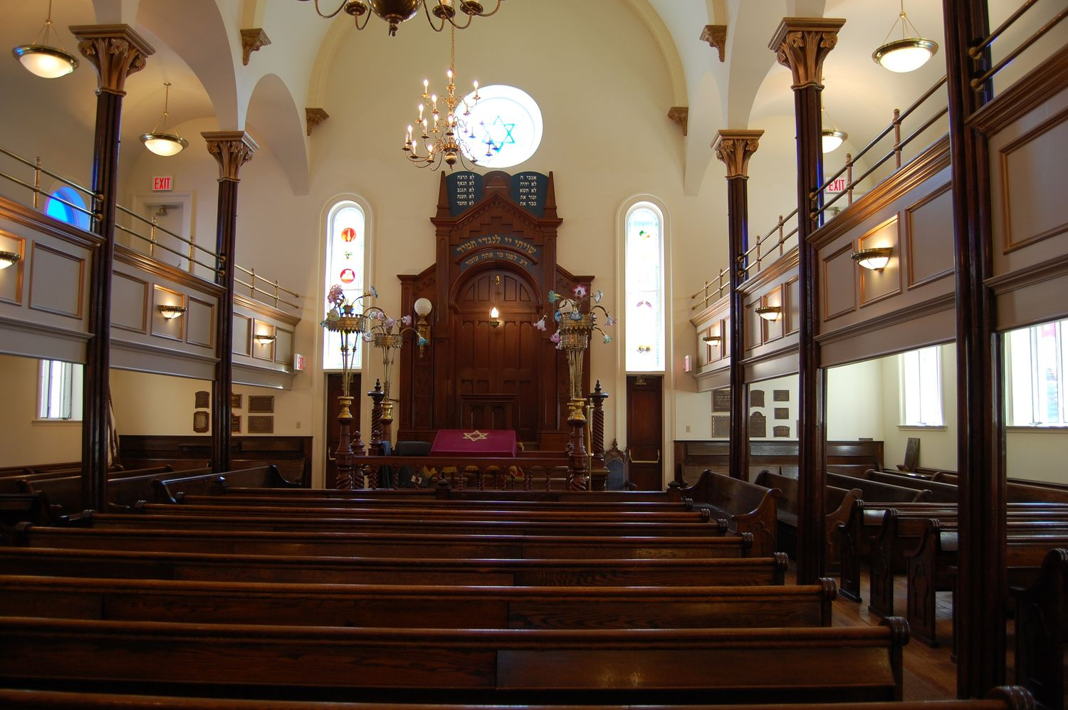 Chasam Sopher synagogue following restoration