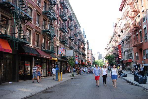 Lower East Side Street Scene Today | LESJC