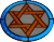 Star of David Stained Glass | LESJC