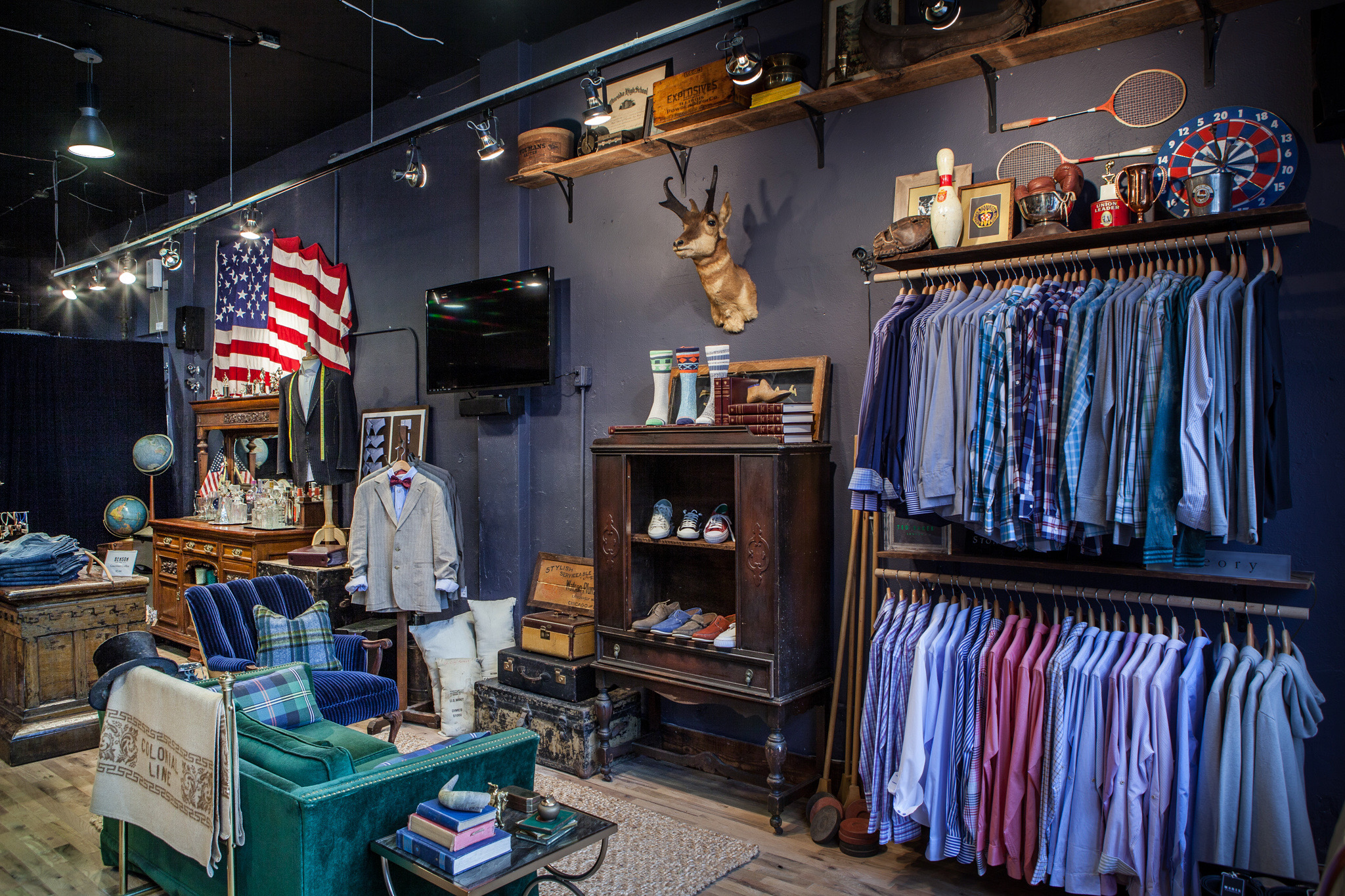 BEFORE/AFTER - MORIS MEN'S STORE