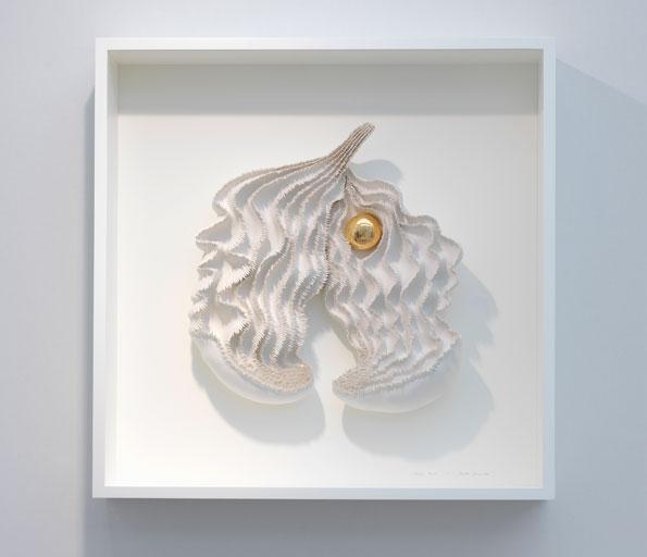 Golden Pearl  (2018)  H73cm x W73cm x D13.5cm