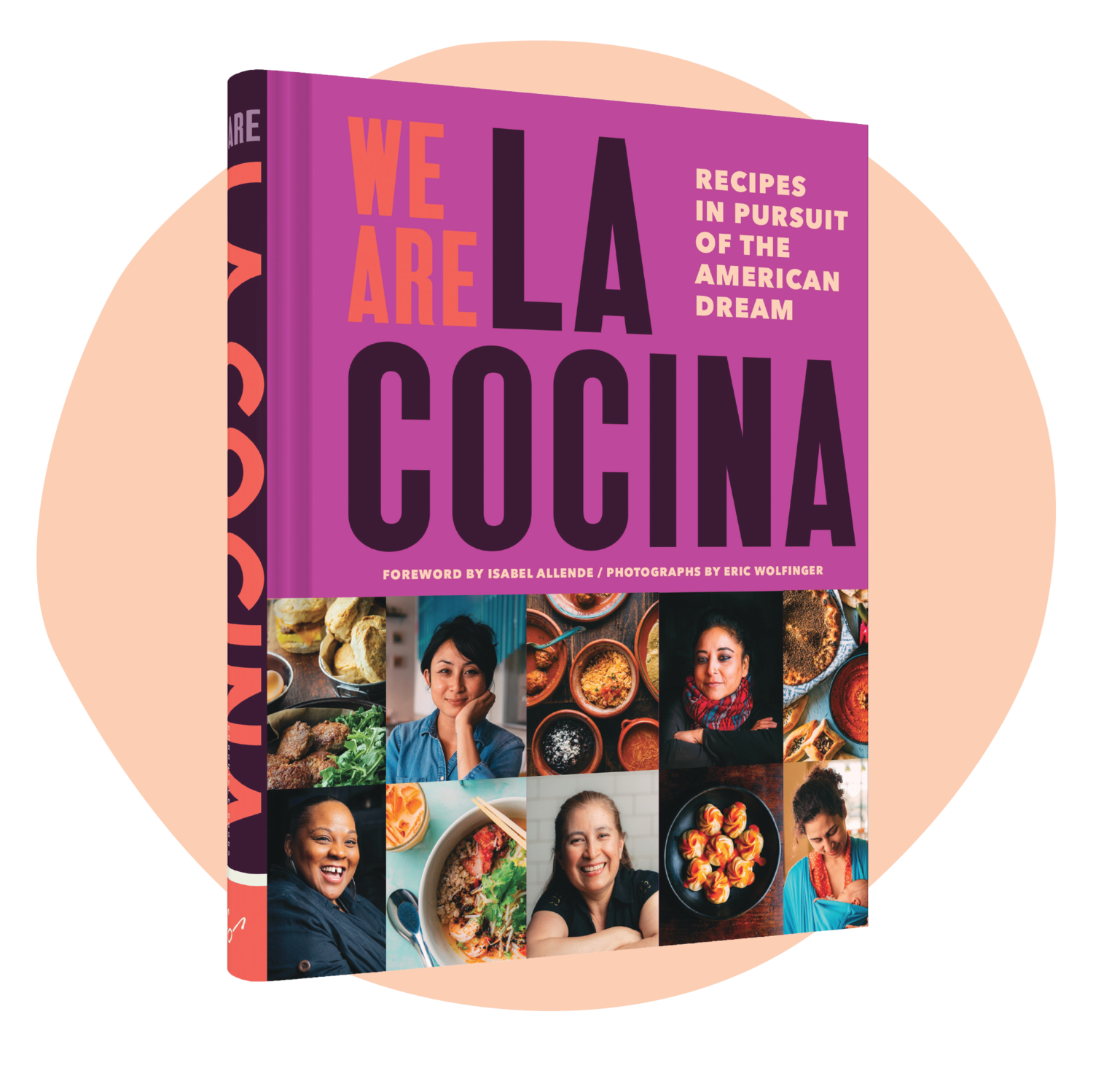 """This book is important. These stories are joyous. These recipes work. We Are La Cocina celebrates our imperfect union and the many people who claim our nation. America needs the brilliance and biro of the women of La Cocina.""  — John T. Edge, Writer and Director of Southern Foodways Alliance"