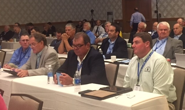 Philip McCoun (right) is also a US Grains Council delegate and Trade Team member.