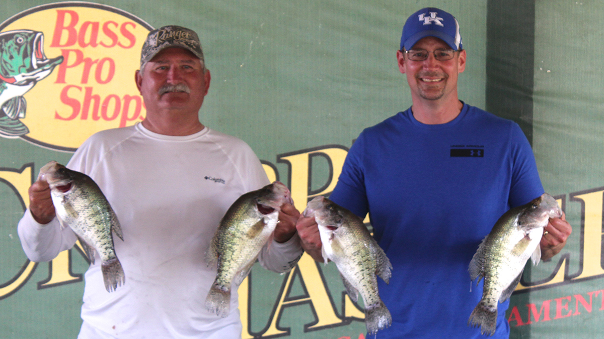 The Grant/Matheny team weighed 14-fish at 24.12 pounds.