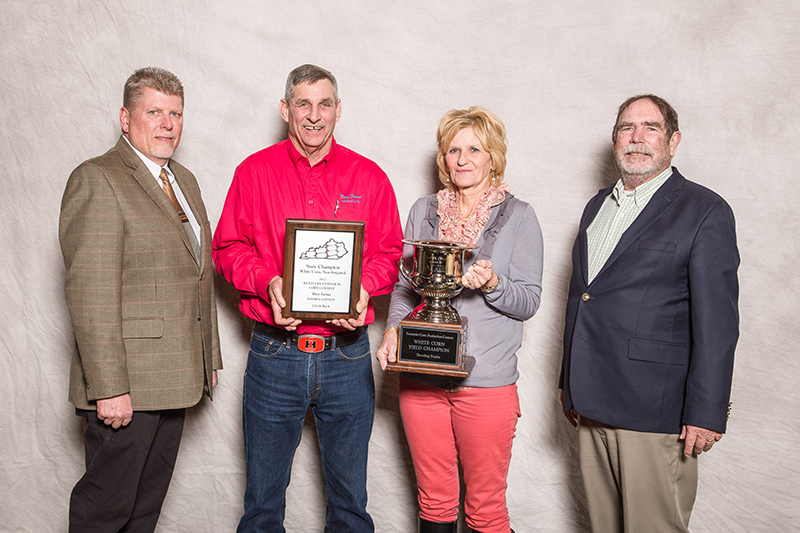 State Champion, White Corn. Brey Farms, Daviess Co. Pioneer P1618 278.26 Bu/A