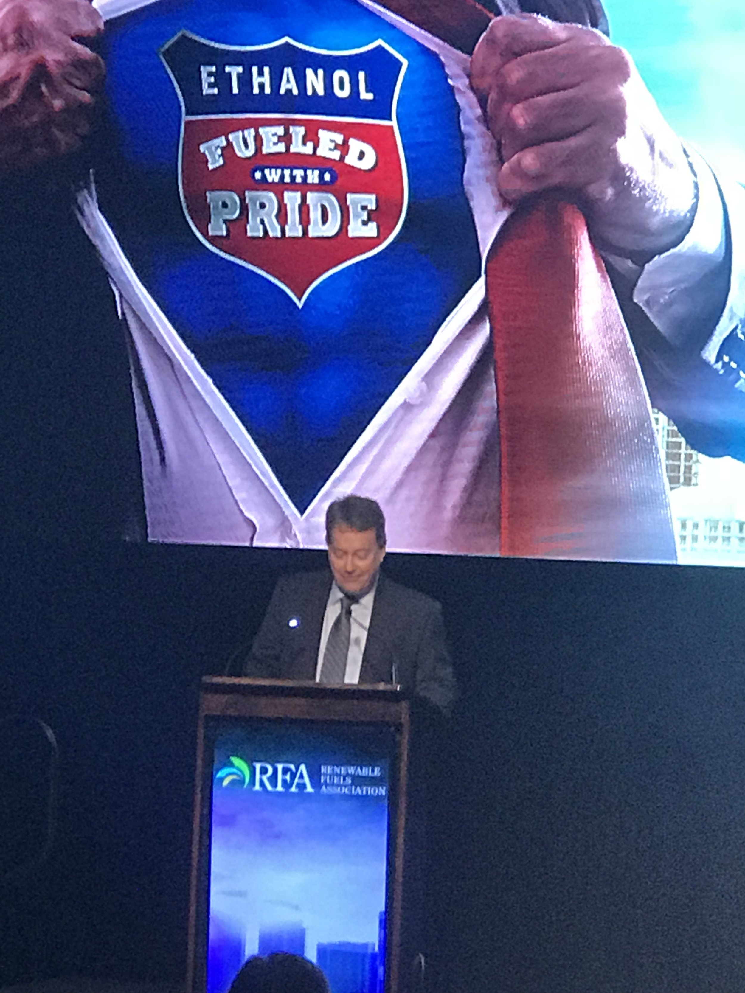 KY Kickoff - Commonwealth Agri-Energy General Manager Mick Henderson provided opening remarks as RFA Chairman.