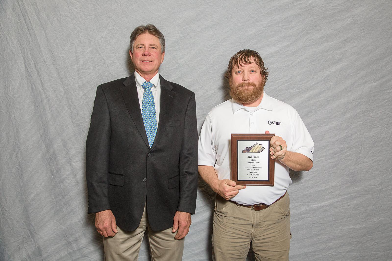 Jeffrey Burr - 3rd Place Irrigated