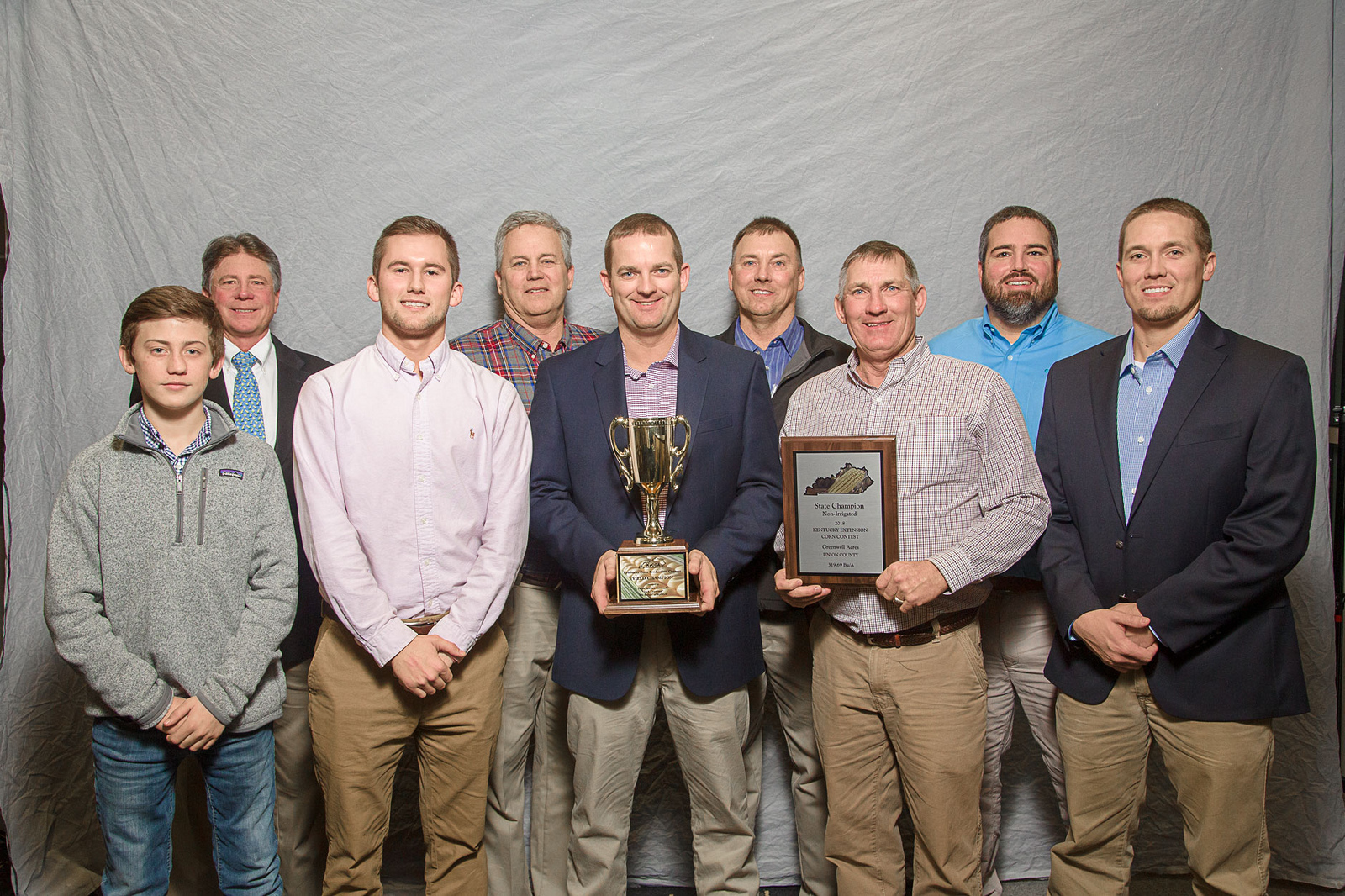 Greenwell Acres will be honored again this year at the Kentucky Commodity Conference on January 17 along with the other winners listed below.