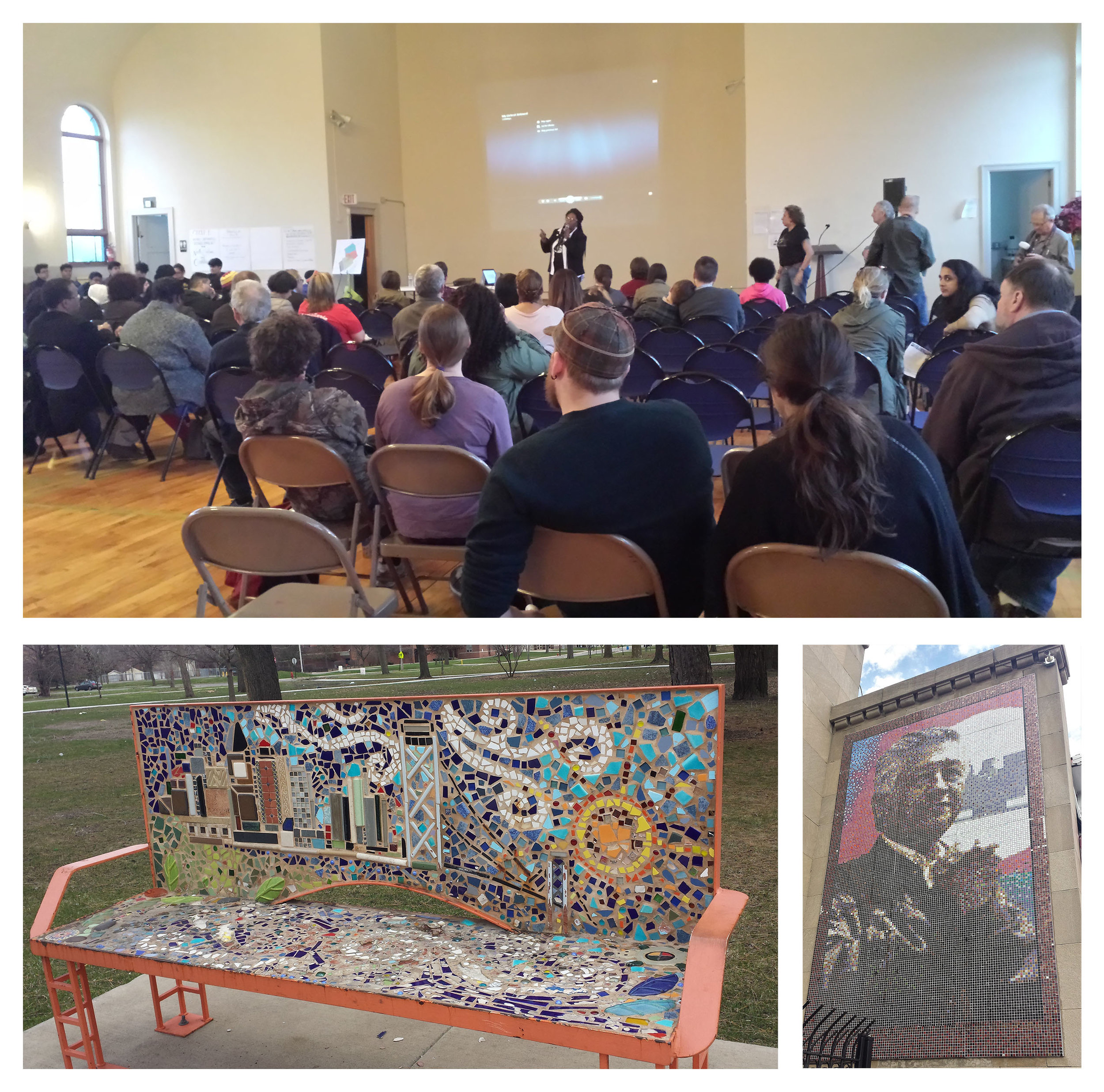 Congress of Communities Meeting, Southwest Detroit and Culturally Specific Urban Art