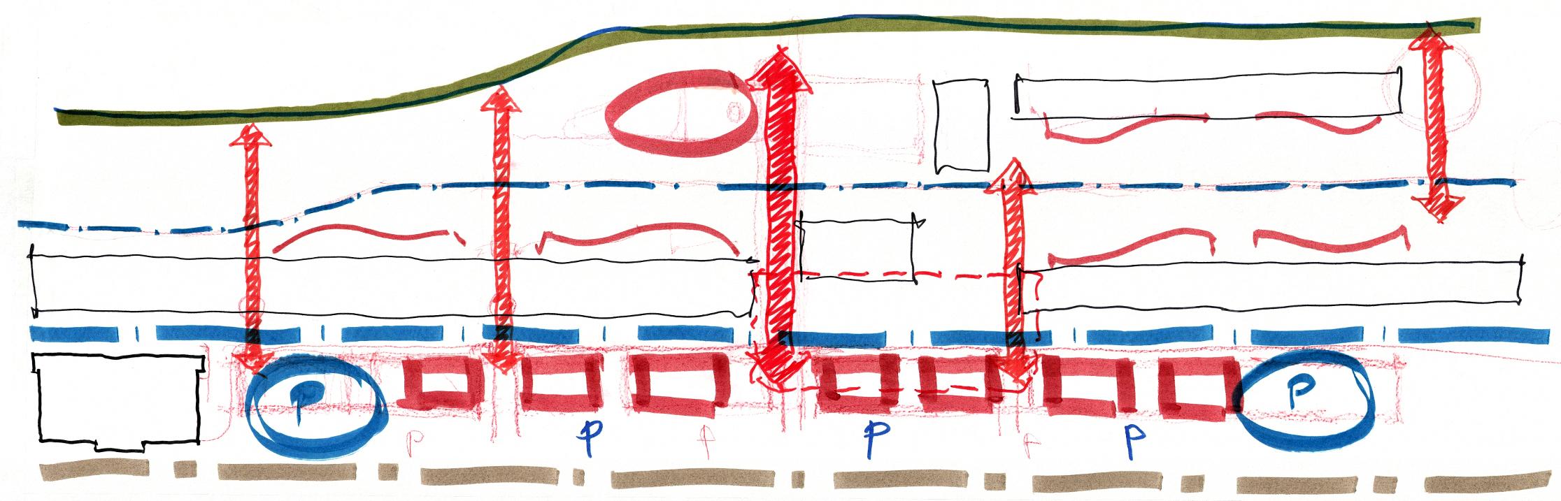 Riverwalk - Site Movement Diagrams