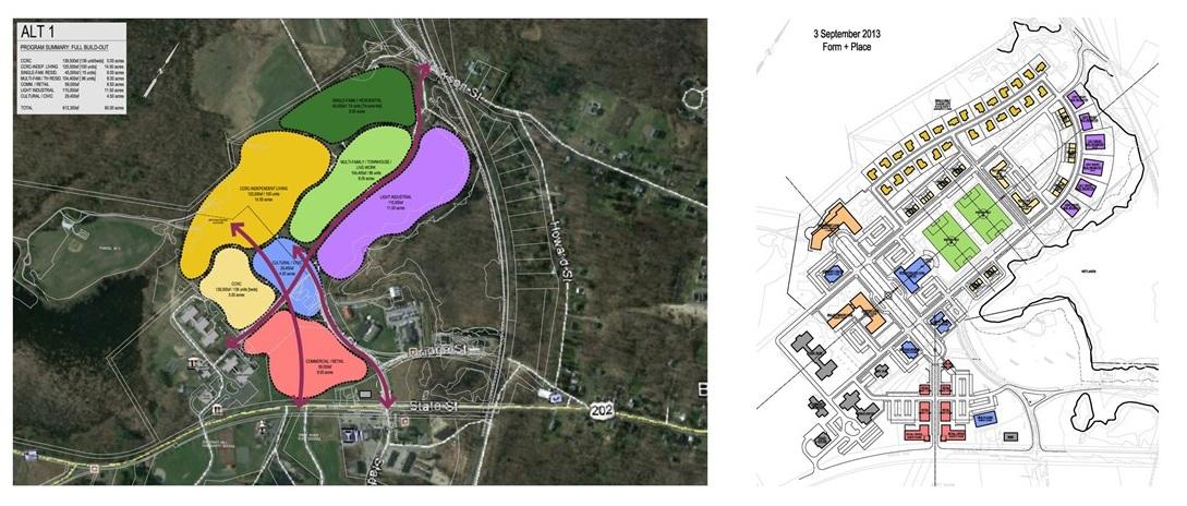 Belchertown State School Diagramming + Planning