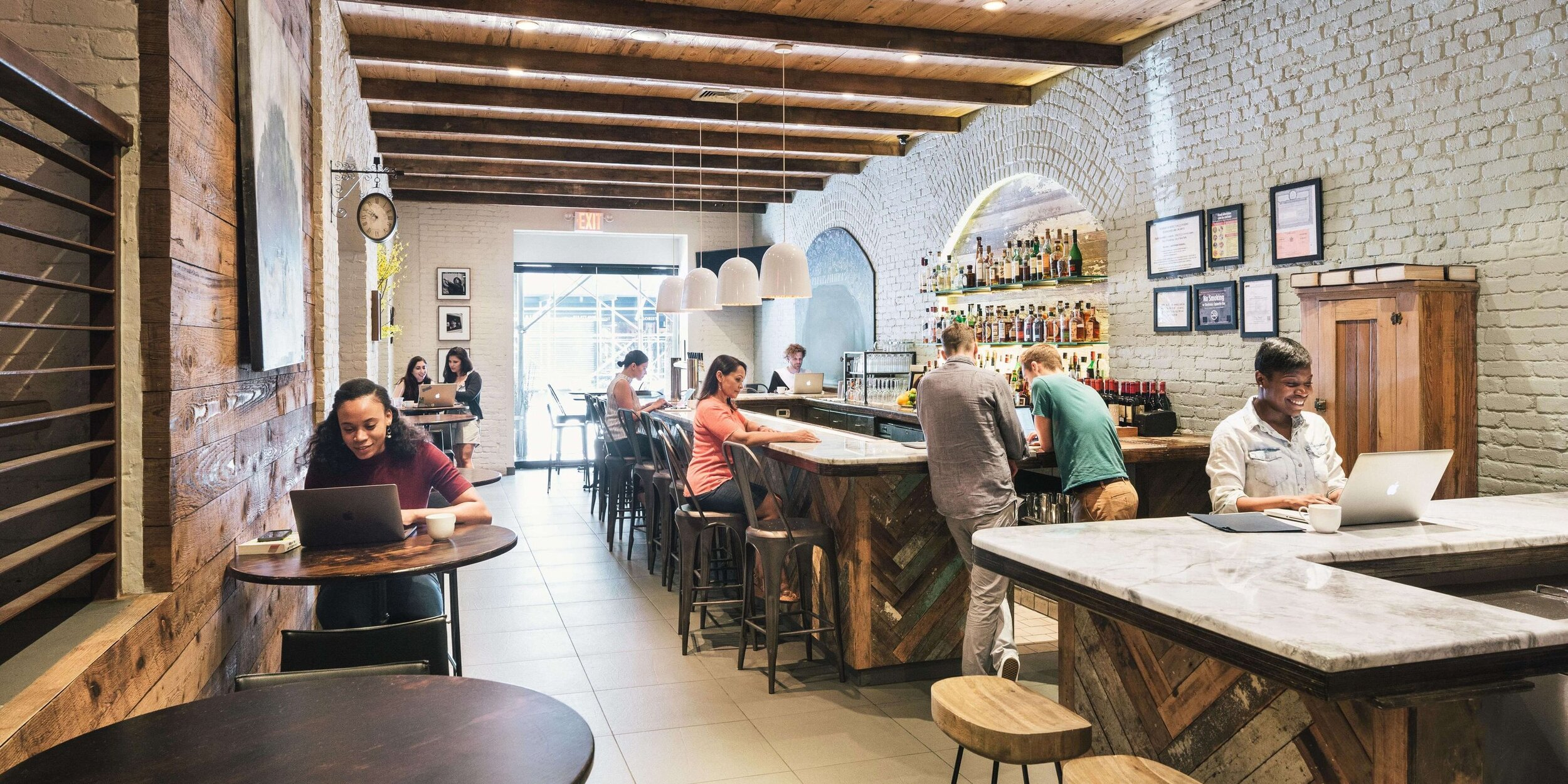 Spacious – The Milling Room – Upper West Side New York – Open daily 8:30 to 5:00