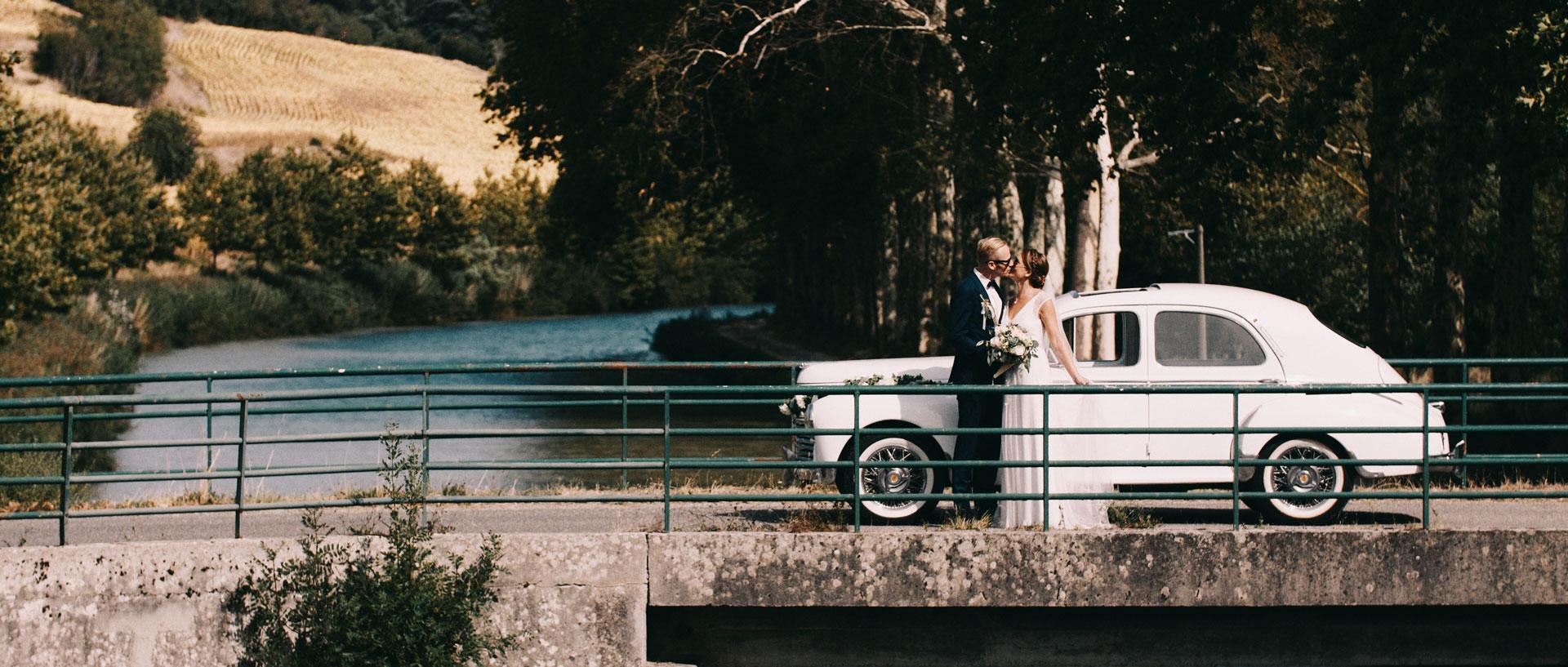 Chic and festive german wedding - Domaine de Ferrabouc - CarcassonneAngelina & Markus