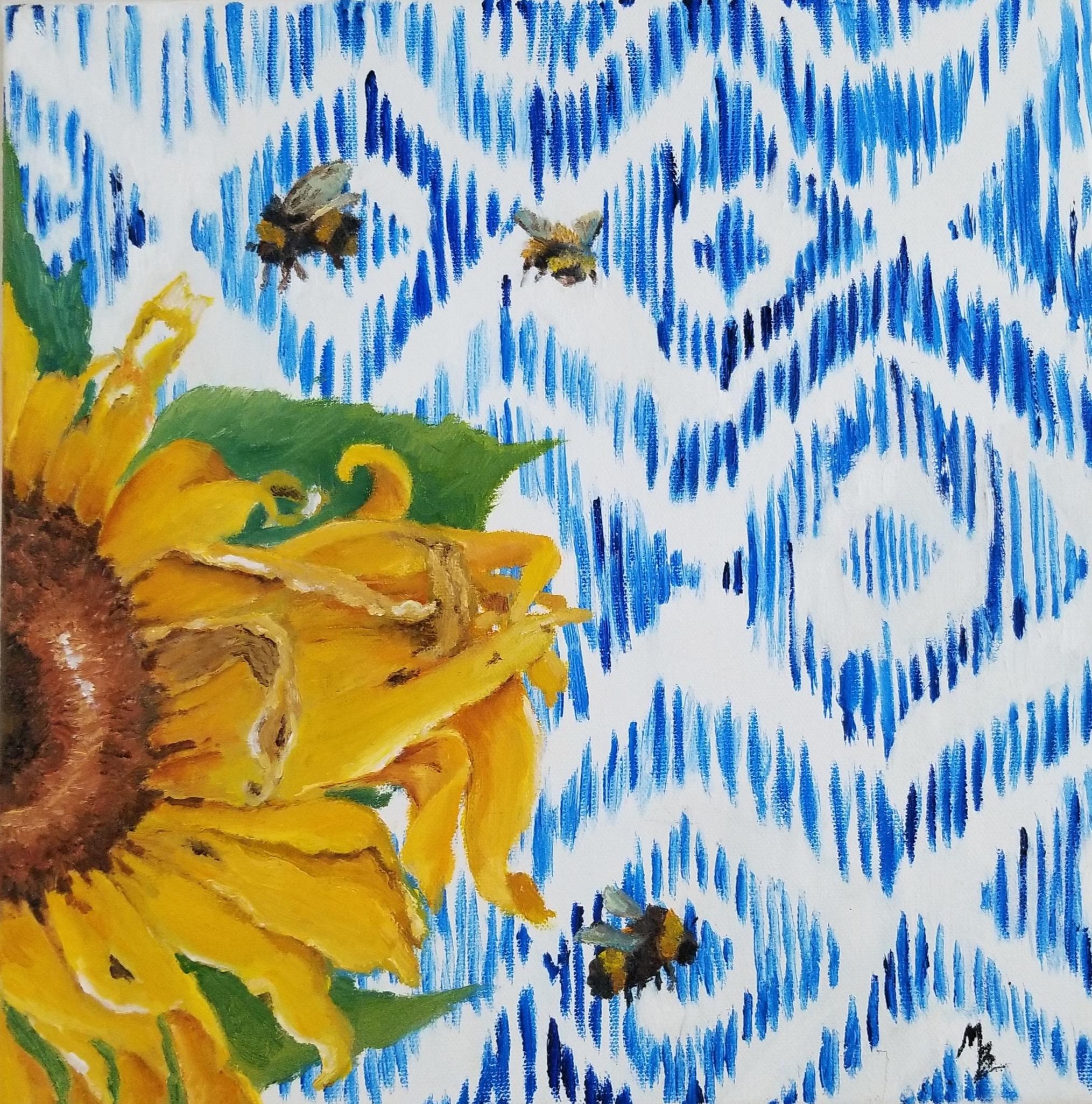 Sunflower Ikat