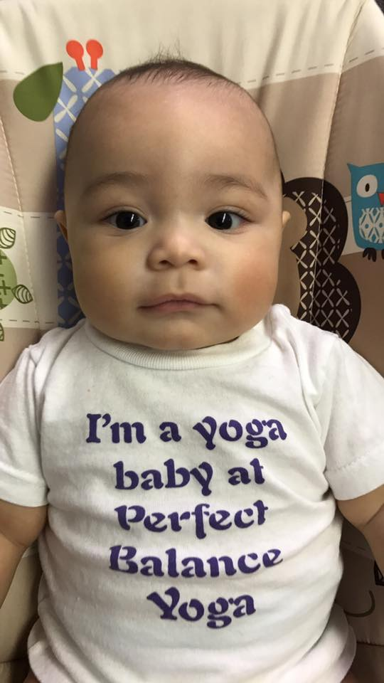 Another special Prenatal Yoga baby