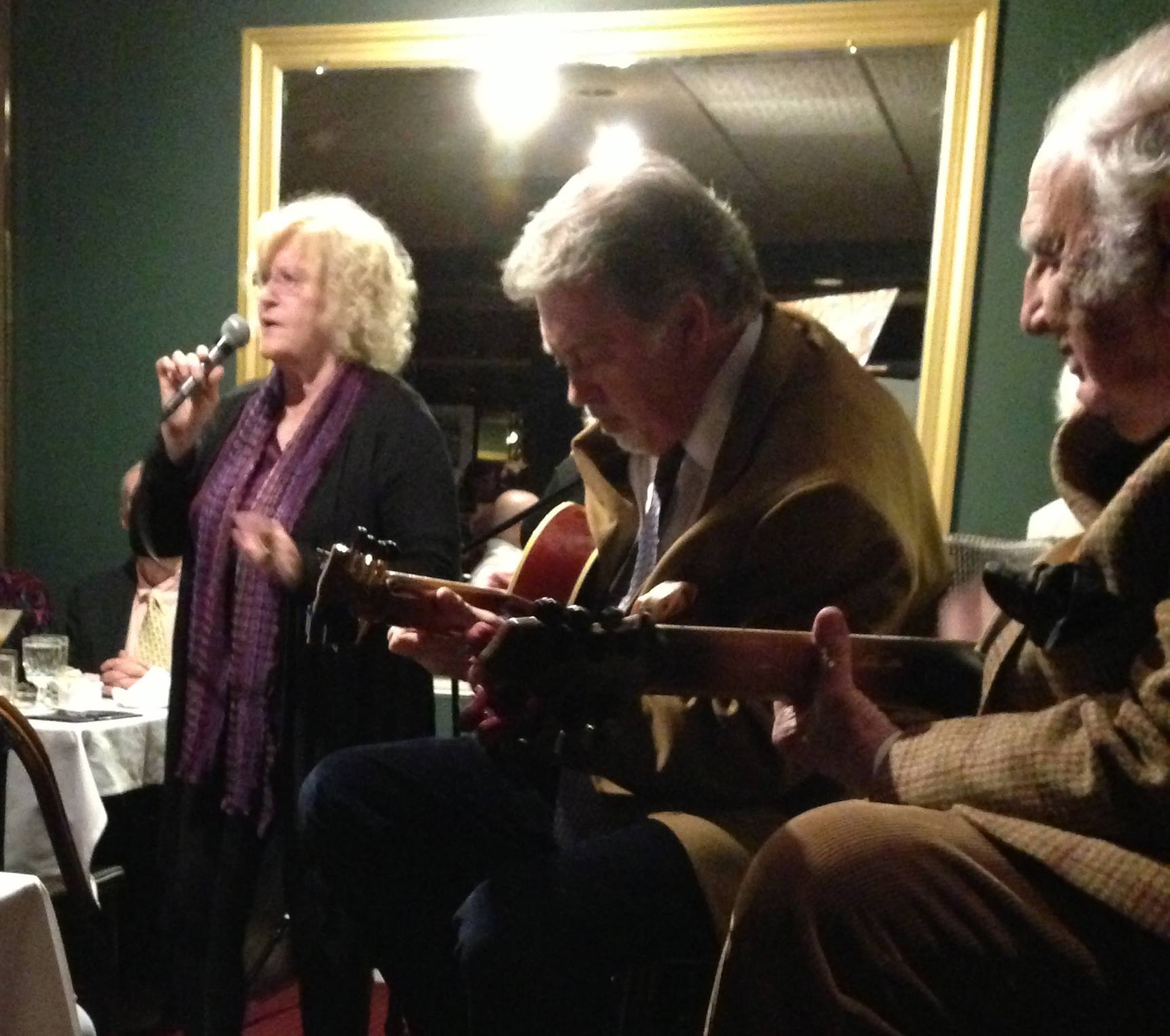 - Performing with Bucky Pizzarelli